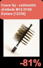 Csőtisztító drótkefe Estiare [12339]