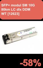SFP+ modul SM 10G 80km LC dlx DDM (WT-SFP+-ZR-C) WT *[12623]