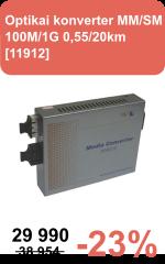 Opt konverter 100M/1G 11912