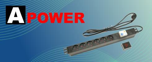 13050 Apower FI relés elosztósáv